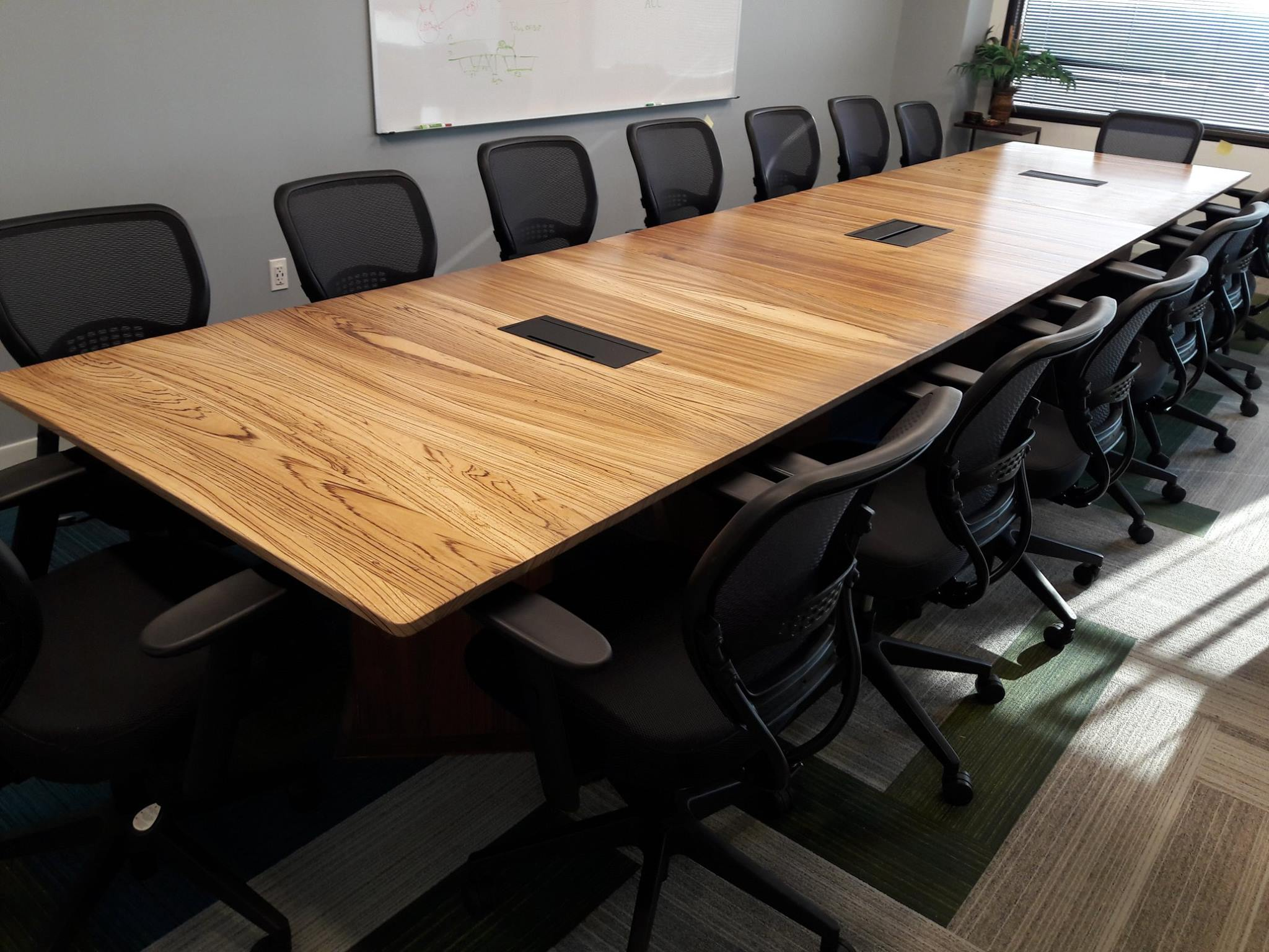 Zebra Wood Conference Table